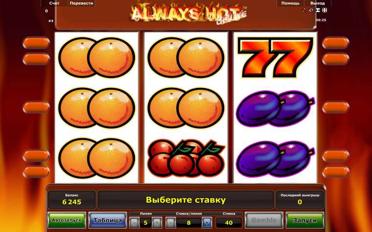 Игровой автомат Олвейс Хот от казино Вулкан.