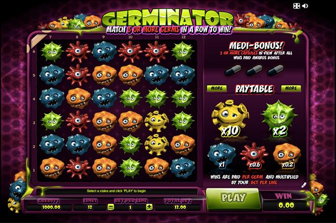 Игровой автомат Microgaming Germinator (Герминатор). Фото от казино Вулкан