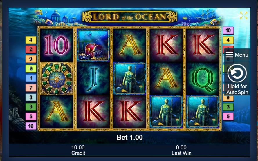 Lord of the Ocean - ИГРОВОЙ АВТОМАТ ОТ НОВОМАТИК - ОБЗОР И ОТЗЫВЫ