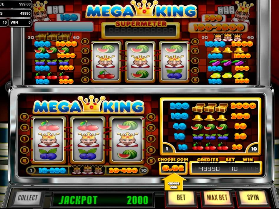 Игровой автомат Mega King от Betsoft